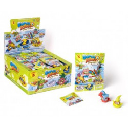 Magic Box Toys SUPER ZINGS Niespodzianka Saszetka z 2 Figurkami 3 SERIA 0358
