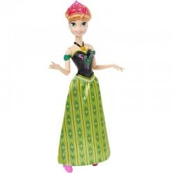 Mattel - CJJ08 - Disney - Frozen - Kraina Lodu - Śpiewajaca Anna - lalka 30 cm