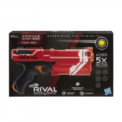 NERF Rival Kronos XVIII-500 Wyrzutnia Kulek Czerwony E3380