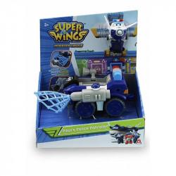 SUPER WINGS Patrolowiec Policyjny Paul'a z Transformującą Figurką 730841