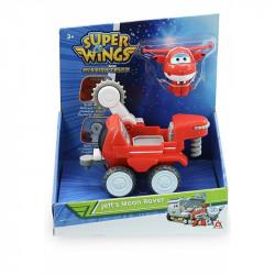SUPER WINGS Jett i Łazik Księżycowy z Transformującą Figurką 730842