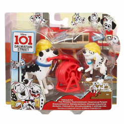 Mattel 101 Dalmatyńczyków Dough i Dolly STRAŻACY GBM38