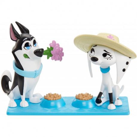 Mattel 101 Dalmatyńczyków PIKNIK Hansel i Dolly GBM39