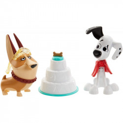 Mattel 101 Dalmatyńczyków PSIE WESELE Dylan i Clarissa GBM40