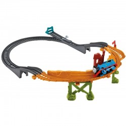 Fisher-Price - CFF94 - CDB59 - Tomek i przyjaciele - Trackmaster - Jazda na Jednym Kole Tomka
