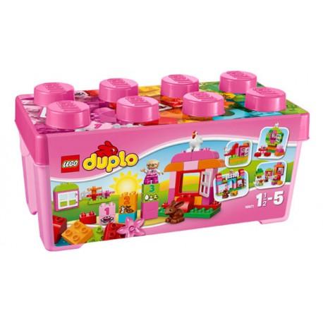 LEGO DUPLO 10571 Zestaw z Różowymi Klockami