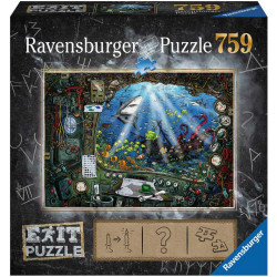 RAVENSBURGER Exit Puzzle Morski Świat 199532