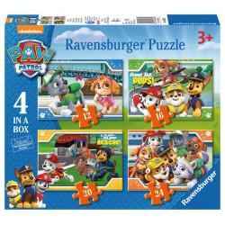 RAVENSBURGER Puzzle 4w1 Psi Patrol 069361