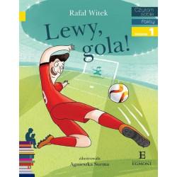 EGMONT Książka dla Dzieci Poziom 1Czytam Sobie LEWY, GOLA! 3181