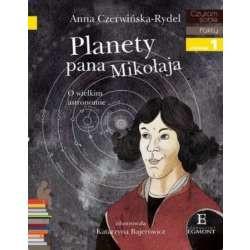 EGMONT Książka dla Dzieci Poziom 1 Czytam Sobie PLANETY PANA MIKOŁAJA 4517