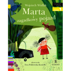 EGMONT Książka dla Dzieci Poziom 1 Czytam Sobie MARTA I ZAGADKOWY POJAZD 4921