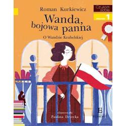 EGMONT Książka dla Dzieci Poziom 1 Czytam Sobie WANDA BOJOWA PANNA O Wandzie Krahelskiej 6298