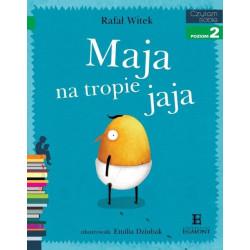 EGMONT Książka dla Dzieci Poziom 2 Czytam Sobie MAJA NA TROPIE JAJA 5678