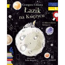 EGMONT Książka dla Dzieci Poziom 1 Czytam Sobie ŁAZIK NA KSIĘŻYCU O Mieczysławie Bekkerze 0011