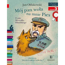 EGMONT Książka dla Dzieci Poziom 3 Czytam Sobie MÓJ PAN WOŁA NA MNIE PIES 0028