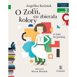 EGMONT Książka dla Dzieci Poziom 2 Czytam Sobie O ZOFII CO ZBIERAŁA KOLORY 6304