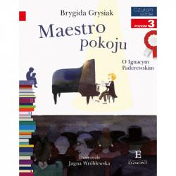 EGMONT Książka dla Dzieci Poziom 3 Czytam Sobie MAESTRO POKOJU O Ignacym Paderewskim 6328