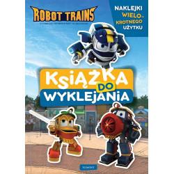 EGMONT Książka Do Wyklejania ROBOT TRAINS 5177