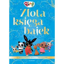 EGMONT Książka dla Dzieci ZŁOTA KSIĘGA BAJEK BING 6113