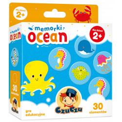 CzuCzu Gra Edukacyjna Memory MEMORKI OCEAN 6163246