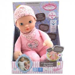 ZAPF CREATION Baby Annabell LALKA Z BIJĄCYM SERDUSZKIEM 702543