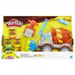 Ciastolina Play-Doh - B1858 - Betoniarka Max