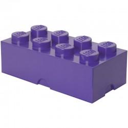 LEGO Pojemnik 8 na Zabawki Fioletowy 0315