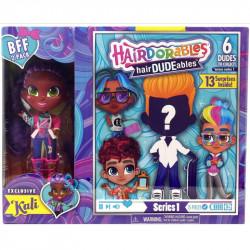 Hairdorables LALECZKA KALI i CHŁOPIEC Hairdudeables 23701
