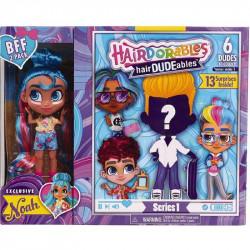 Hairdorables LALECZKA NOAH i CHŁOPIEC Hairdudeables 23701