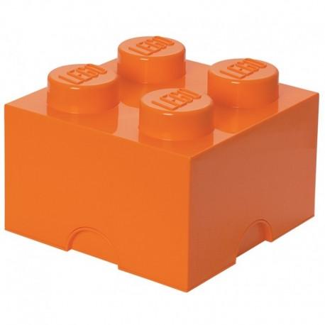 LEGO Pojemnik 4 na Zabawki Pomarańczowy