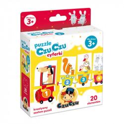 CzuCzu PUZZLE CYFERKI 3+ 6163245