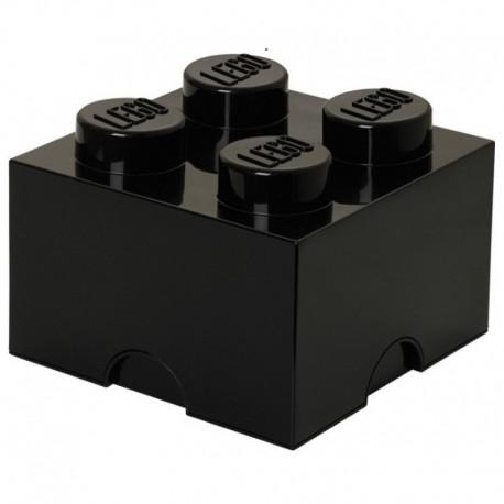 LEGO Pojemnik 4 na Zabawki Czarny
