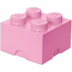 LEGO Pojemnik 4 na Zabawki Jasny Róż 0386