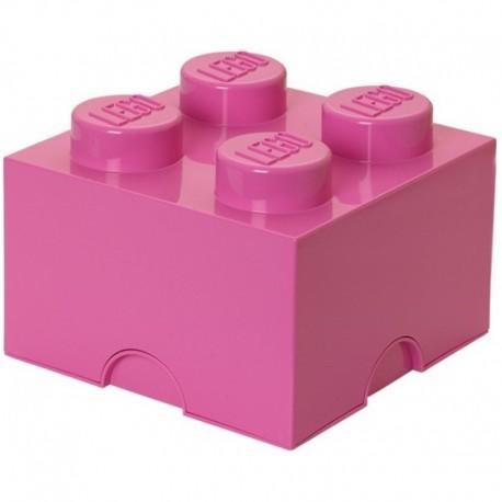 LEGO Pojemnik 4 na Zabawki Ciemny Róż