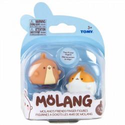 Tomy MOLANG Figurki Pacynki na Palce PRZYJACIELE MOLANGA L66070/L66054