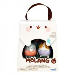 Tomy MOLANG Figurki SPORTOWI PRZYJACIELE MOLANGA L66050