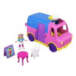 Mattel POLLY POCKET Furgonetka z Lodami GGC40