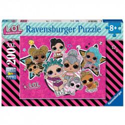 RAVENSBURGER Układanka Puzzle 200 Elementów LOL SURPRISE 128846