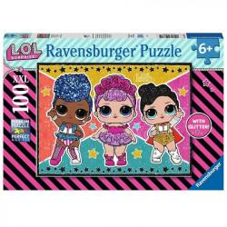 RAVENSBURGER Układanka Puzzle 100 Elementów LOL SURPRISE 128815