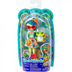 MATTEL ENCHANTIMALS TAMIKA TREE FROG I ŻABA BURST GFN43