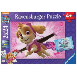RAVENSBURGER Puzzle 2x12el. PSI PATROL SKY I EVEREST 91522
