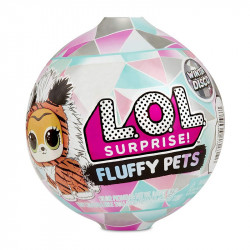 MGA Entertainment L.O.L SURPRISE PETS! Seria FLUFFY PETS Zwierzątko Winter Disco 560487