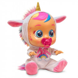 IMC TOYS Lalka Płacząca Prawdziwymi Łzami CRY BABIES LALKA JEDNOROŻEC DREAMY 099180