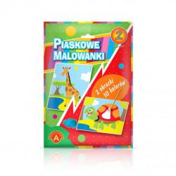 Alexander Piaskowe Malowanki Malowanie Piaskiem ŻYRAFA I ŻÓŁW 7120
