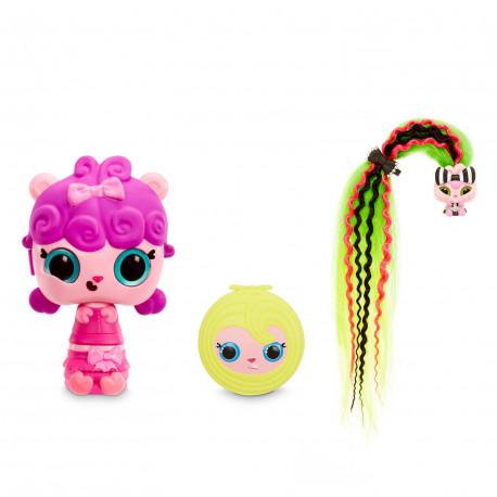 MGA Entertainment Pop Pop Hair Surprise LALECZKA NIESPODZIANKA Z WŁOSAMI I SZCZOTKĄ NR 3 5626657