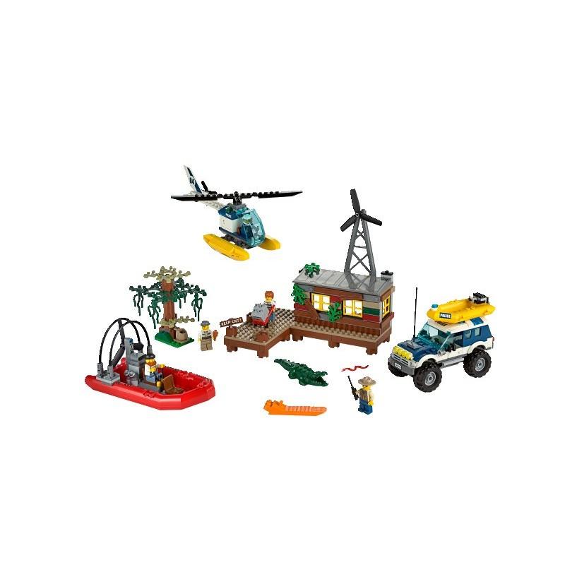 Lego City 60068 Policja Kryjówka Rabusiów Pan Zabawka