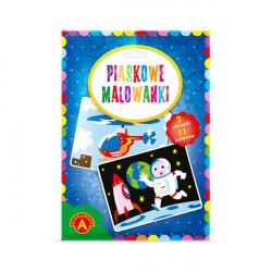 Alexander Piaskowe Malowanki Malowanie Piaskiem ASTRONAUTA I HELIKOPTER 0915