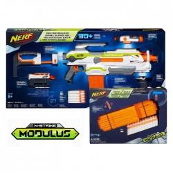 Hasbro - B1538 - NERF N-Strike Elite XD - Wyrzutnia - Modulus ECS-10 + Zestaw Magazynków
