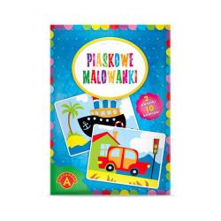 Alexander Piaskowe Malowanki Malowanie Piaskiem AUTO I STATEK 8820