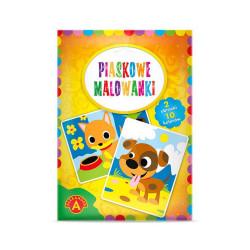 Alexander Piaskowe Malowanki Malowanie Piaskiem KOTEK I PIESEK 8806